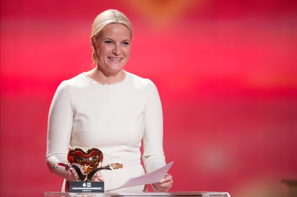 Crown Princess Mette-Marit Visited NYC to Crusade for Women's Rights