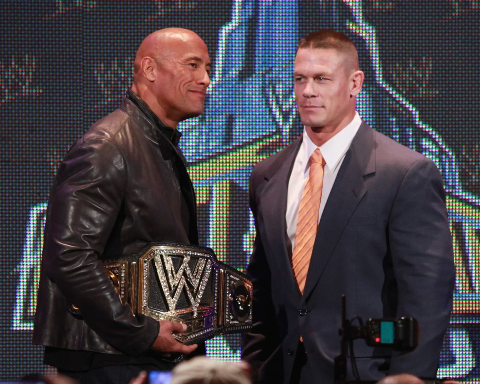 John Cena Rightly Puts Dwayne Johnson in a Category of His Own