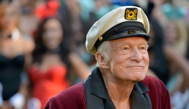 Hugh Hefner bought the house in 1971.