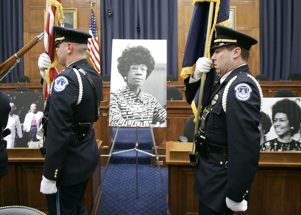 Shirley Chisholm Could Become 2nd Black Woman to Have Statue in US Capitol