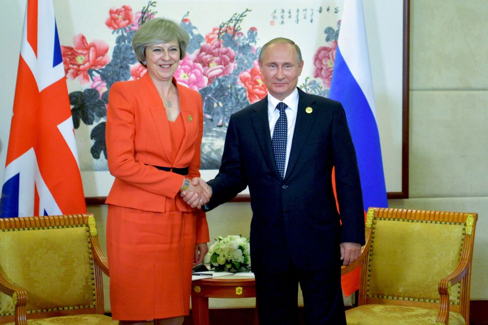 Here's What Theresa May's Expulsion of Russian Diplomats Signals for World Order