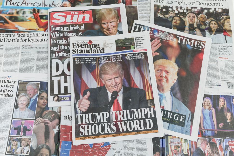 Journalism Schools Are Getting a 'Trump Bump' Thanks to Fake News