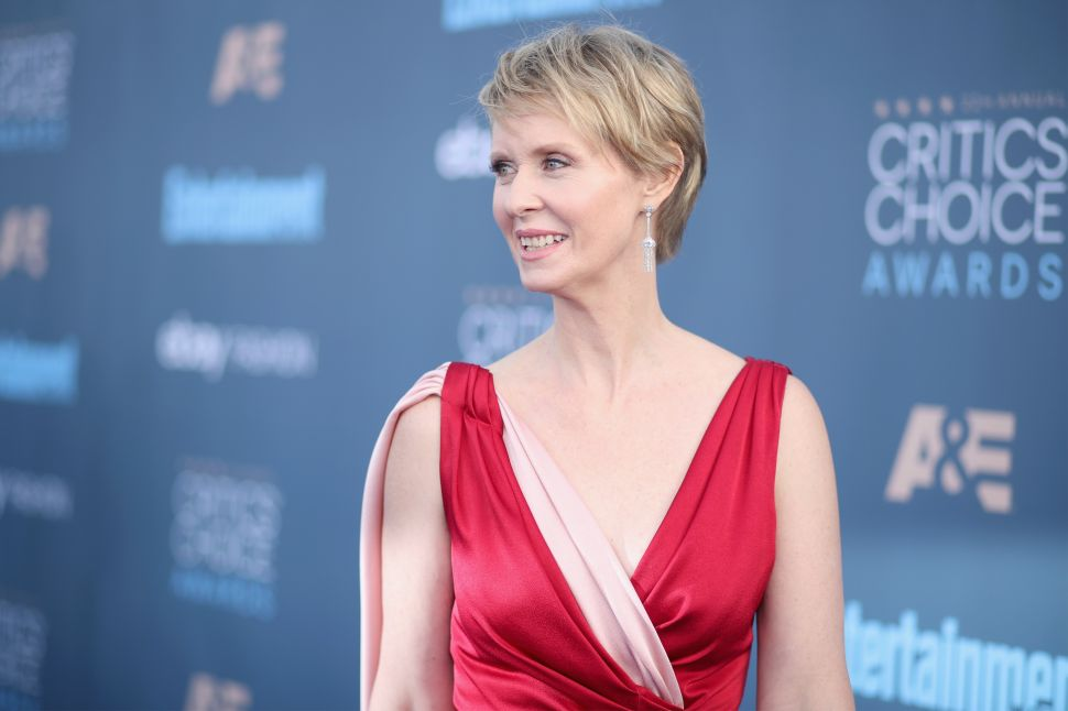 This Is What Would Happen if Cynthia Nixon Ran for Governor