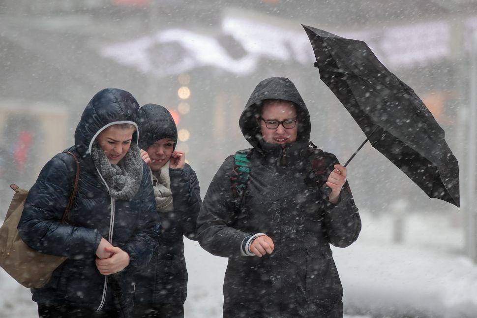 Rare Thundersnow Hits Parts of New York City