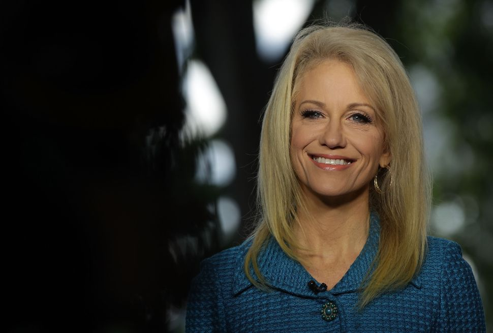 White House Defends Kellyanne Conway's Violation of Federal Ethics Rules