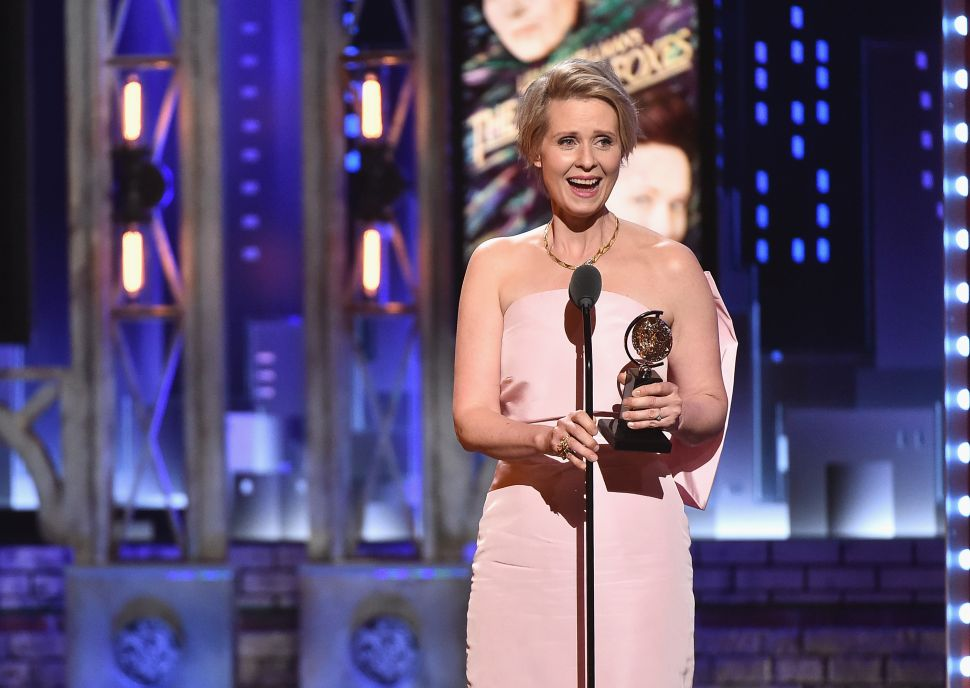 It's Official: 'Sex and the City' Actress Cynthia Nixon Is Challenging Cuomo