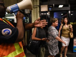 The city and the state are sparring over who should fund repairs to the struggling subway system.