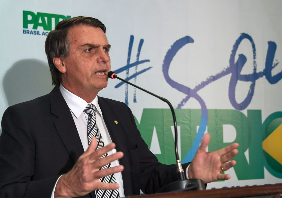 Is Brazil About to Elect the 'Most Misogynistic Official in the World'?
