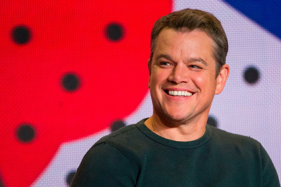 No, Matt Damon Isn't Moving to Australia