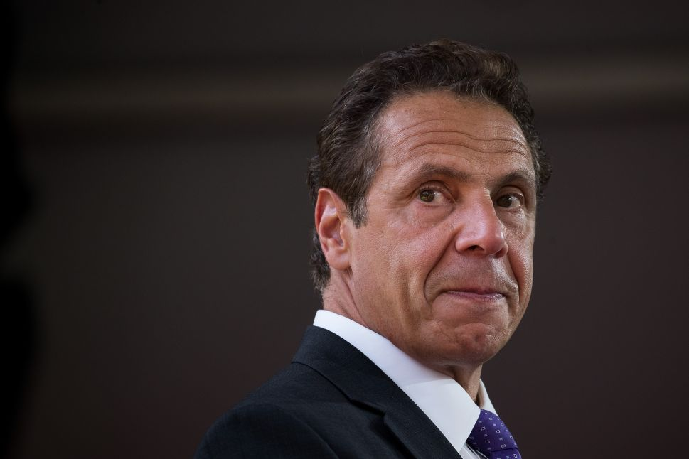 NY Gov. Andrew Cuomo Remains Frontrunner Despite Possible Cynthia Nixon Bid