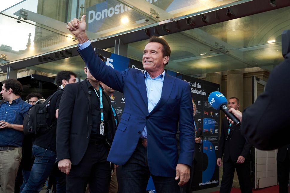 Arnold Schwarzenegger Demands All Gas Pumps Carry Warning Labels
