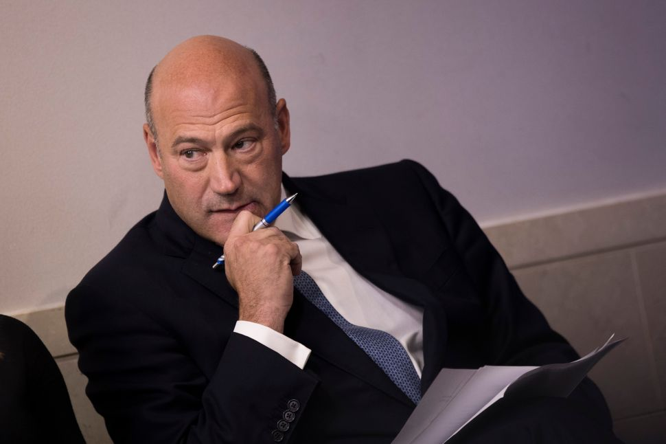 Inside Gary Cohn's Tumultuous Ride With Trump's White House