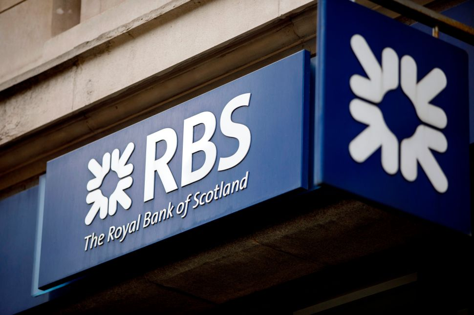 Royal Bank of Scotland Will Pay New York $500M for Misconduct During Financial Crisis