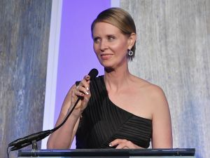 Actress and education activist Cynthia Nixon.