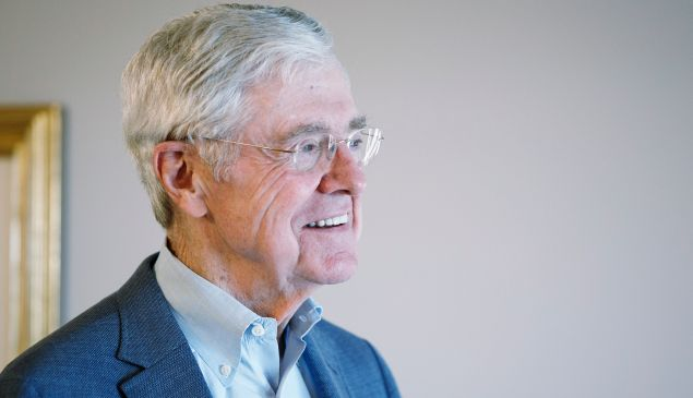 Koch Industries Chairman Charles Koch.