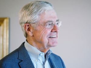 Koch Industries Chairman Charles Koch.