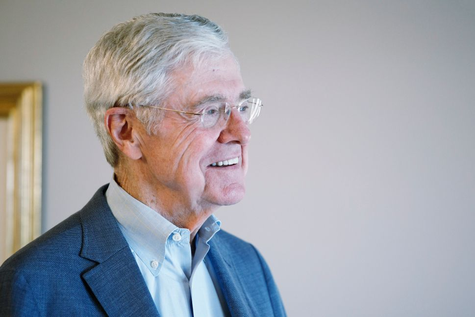 Charles Koch Implores Corporate Leaders to Reject Trump's Tariffs