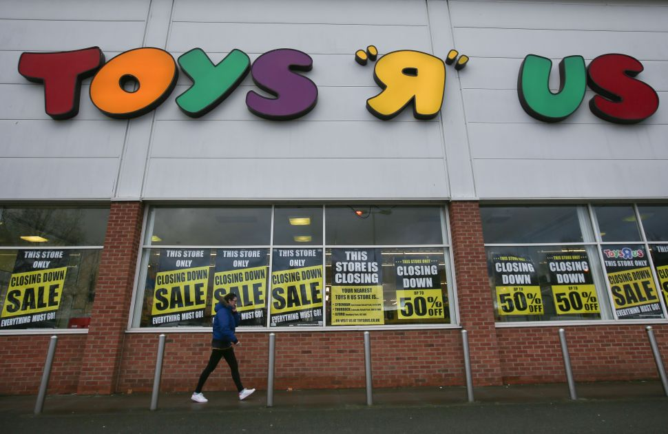 Why Toys 'R' Us Filed for Bankruptcy at the Worst Possible Time