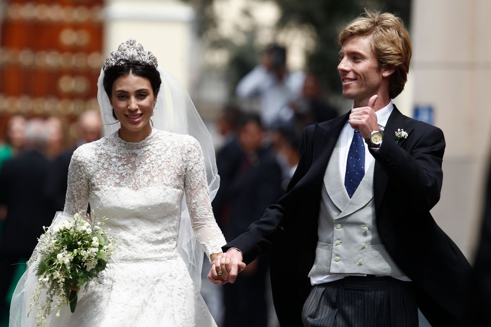 This Royal Wedding In Peru Was Packed With Princesses and Kate Moss