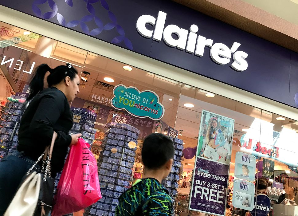 Claire's Bankruptcy: How Will It Affect All the Teens Who Want Their Ears Pierced?