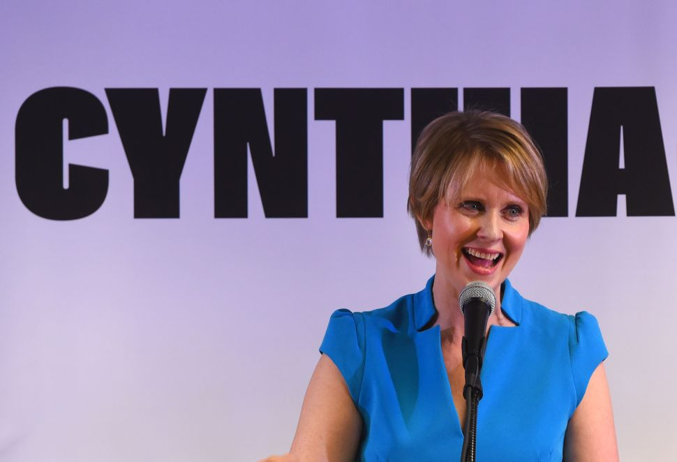 At Campaign Kickoff, Cynthia Nixon, Slams Cuomo Over 'Dysfunction and Dishonesty'