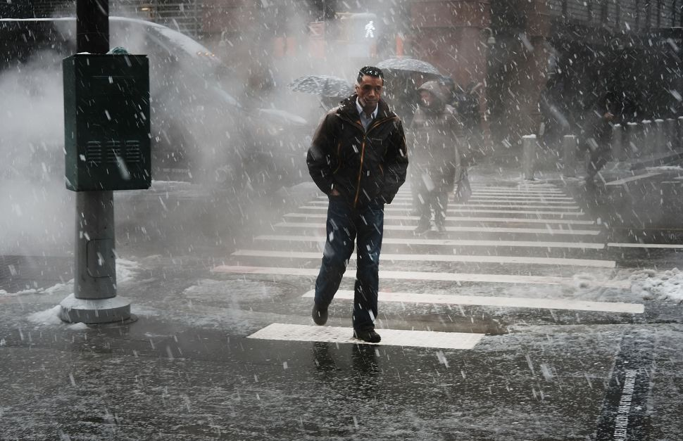 Nor'easter Could Bring Up to 18 Inches of Snow to New York City