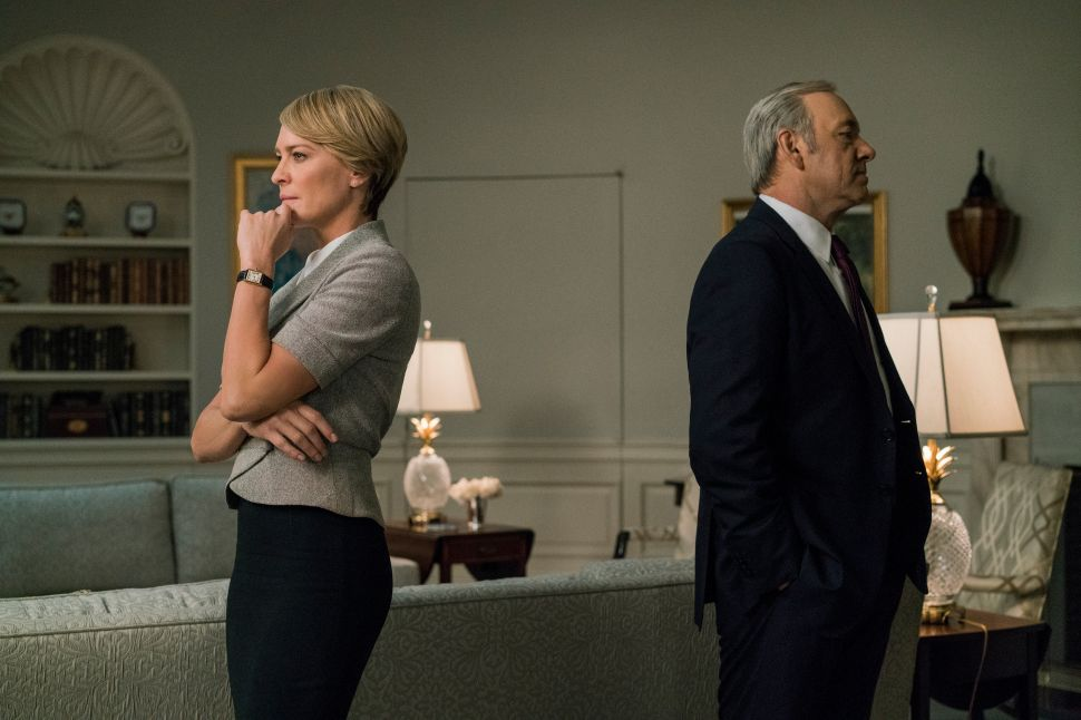 'House of Cards' Cast Member Says Change in Focus Was Coming Before Spacey Scandal