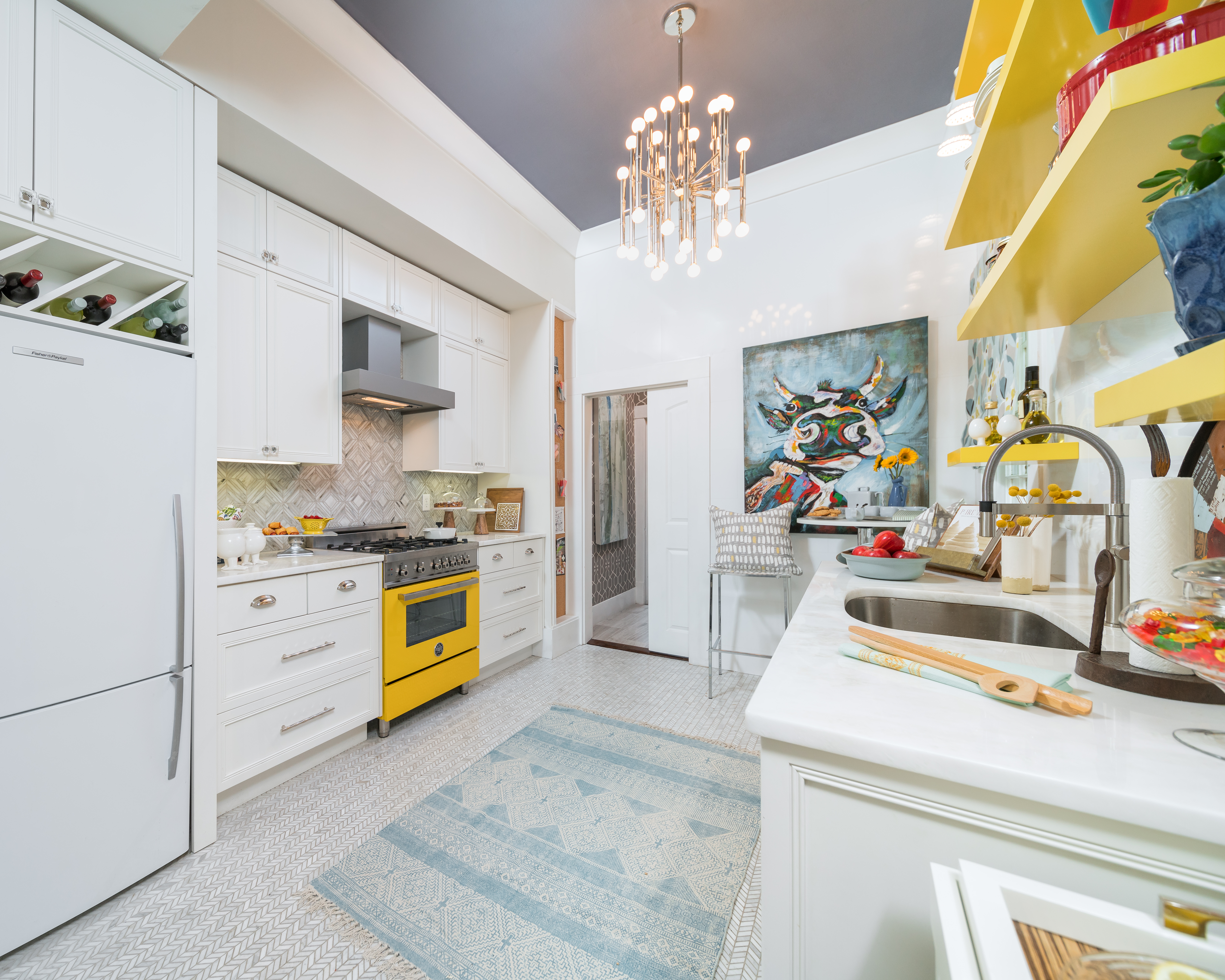 interior design trends colorful '70s kitchen styles are