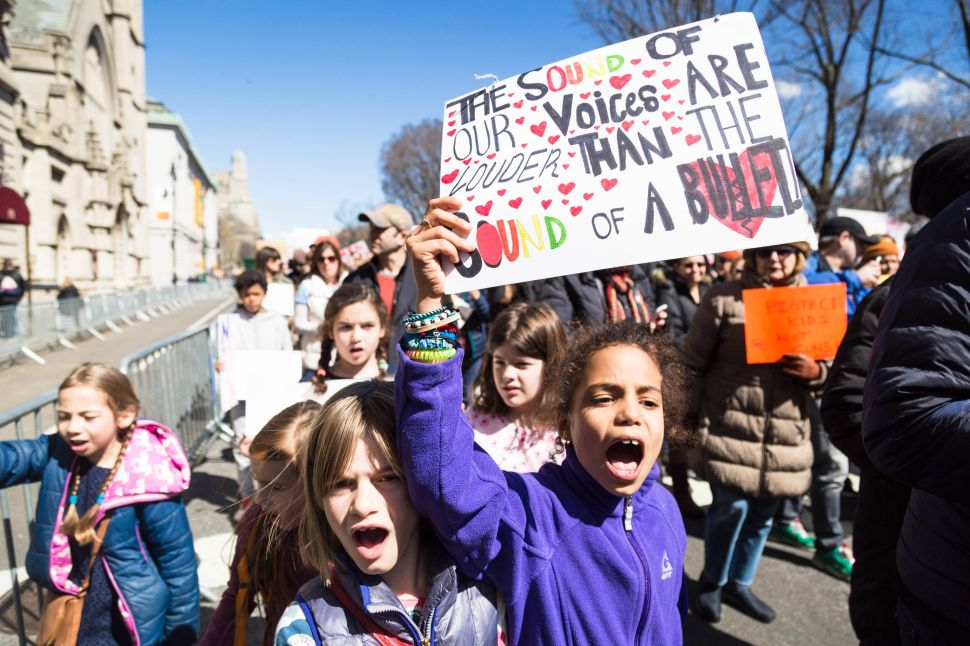 March for Our Lives Shows Kids Yell Loudest Against Gun Violence