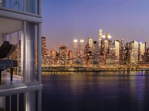 Stunning views make Nine on the Hudson the place to live.