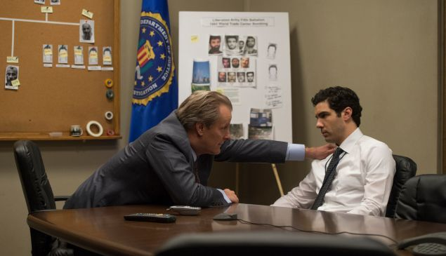 John O'Neill (Jeff Daniels) and Ali Soufan (Tahar Rahim) in The Looming Tower.