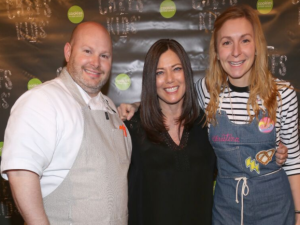 Dan Kluger, Gretchen Witt and Christina Tosi.