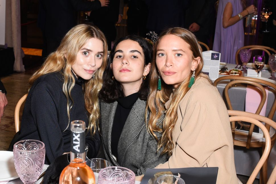 Mary-Kate and Ashley Olsen Gala With Mega-Bloggers at Lincoln Center