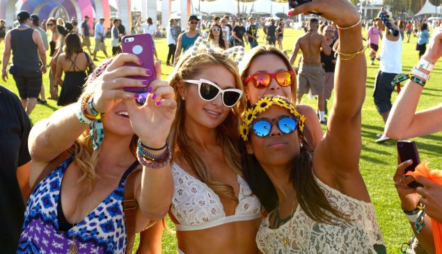 celebrities at coachella
