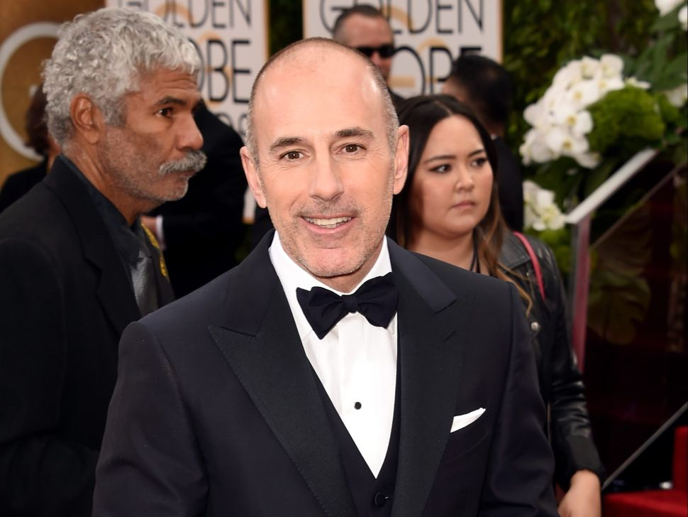 Matt Lauer Is Selling the New York Apartment Where He Was Fired