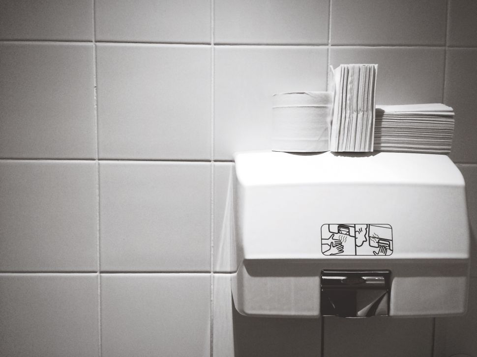Hand Dryers in Public Bathrooms Are Spreading Bacteria Everywhere