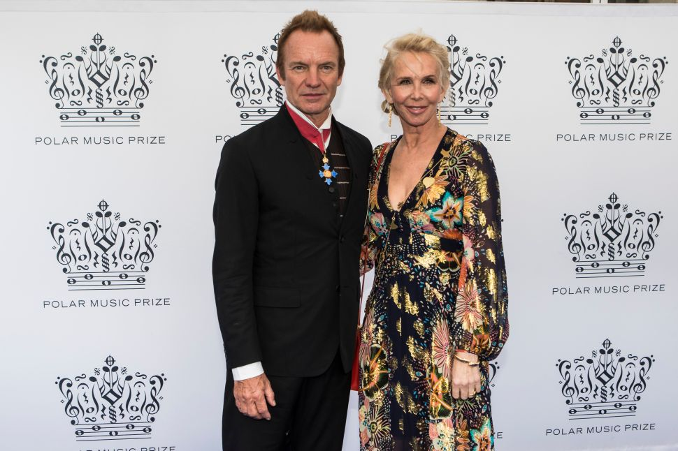 Sting and Trudie Styler Left Central Park West For a Futuristic Abode
