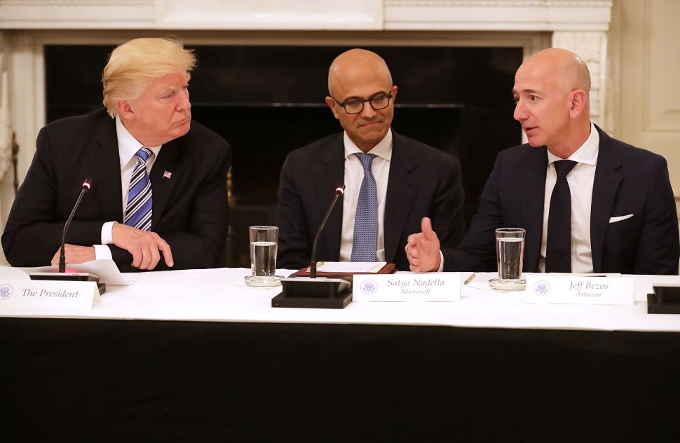 Where Did Trump's False Info on Amazon and USPS Come From?
