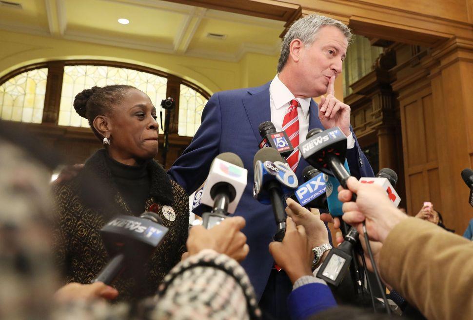Here's an Inside Look at NYC Mayor Bill de Blasio's 2017 Tax Return