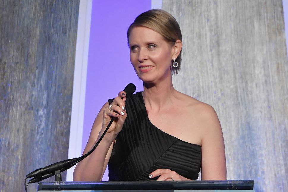Cynthia Nixon: Legalize Marijuana to Help End 'the Racist War on Drugs'