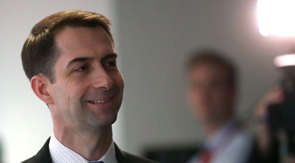 Tom Cotton Endorses New Jersey Assemblyman Jay Webber for Congress