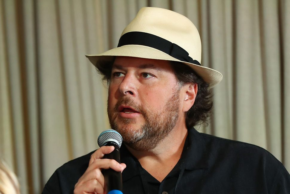 Salesforce CEO Marc Benioff Discusses the Unexplained Gender Pay Gap in Tech