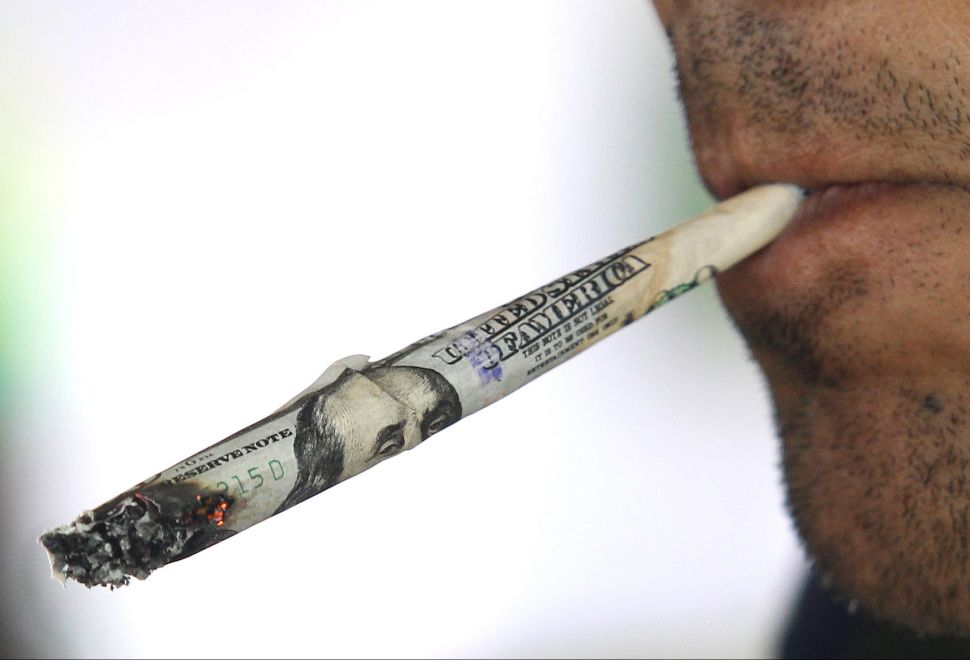 Banks Could Totally Defy the Government and Accept Marijuana Money