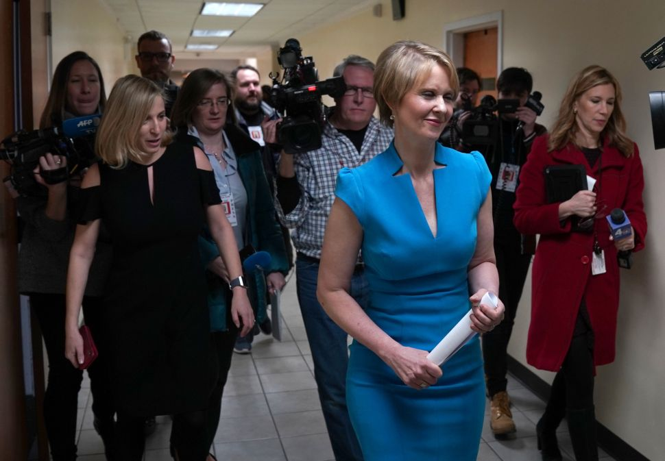What WFP Endorsing Cynthia Nixon Means for New York's Race for Governor