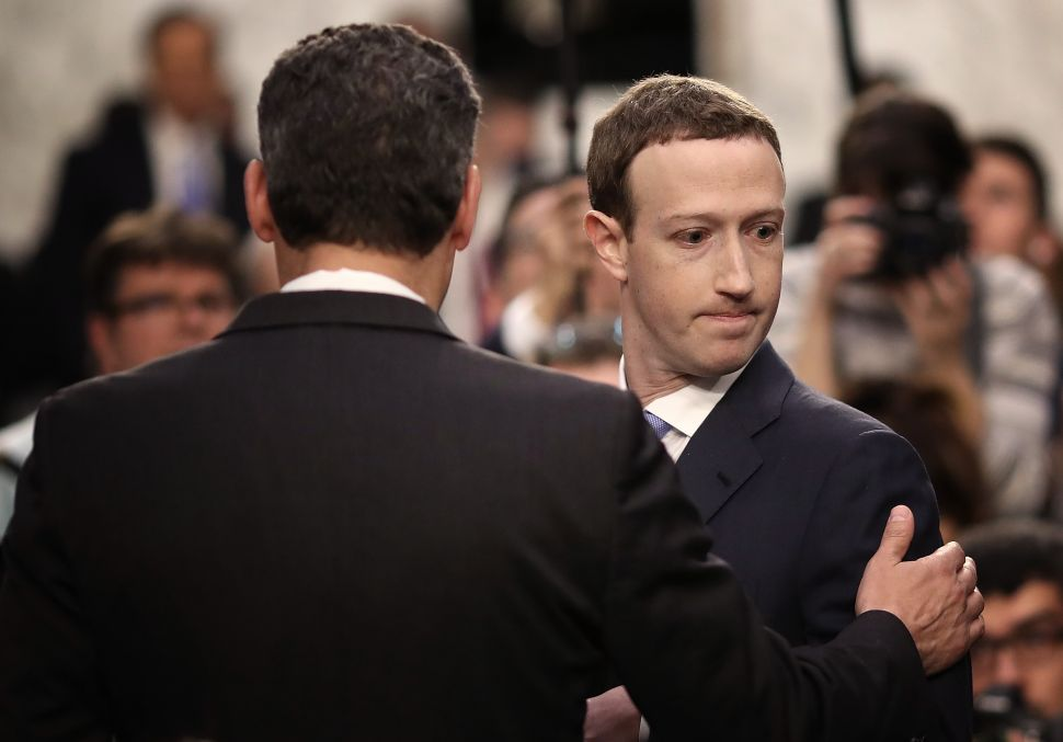Mark Zuckerberg Is on an Apology Tour for Sheryl Sandberg's Mistakes