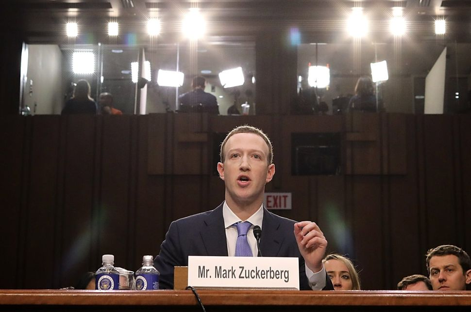 Mark Zuckerberg Refuses to Admit Facebook Is a Monopoly