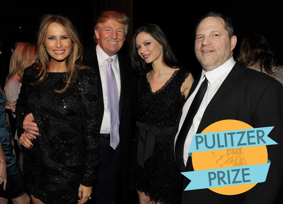 Pulitzer Prizes Honor Weinstein Exposés, Trump Explainers—And Kendrick Lamar