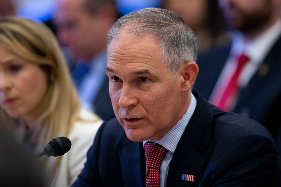 How Scott Pruitt Is Dismantling the EPA From the Inside