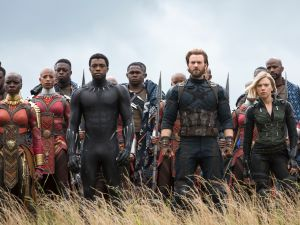 Avengers: Infinity War Budget Box Office Marvel Sony