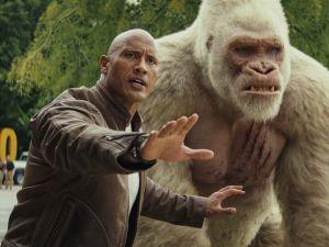 Rampage Box Office Dwayne Johnson